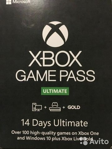 XBOX GAME PASS ULTIMATE 14 days (XBOX/PC) RENEWAL
