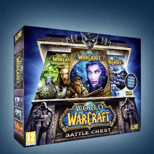 WORLD OF WARCRAFT: BATTLE CHEST (RU/EU) + 30 DAYS