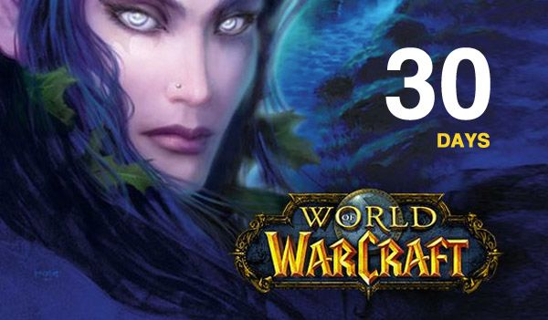 WORLD OF WARCRAFT 30 DAYS TIME CARD (RU/EU)+WOW CLASSIC