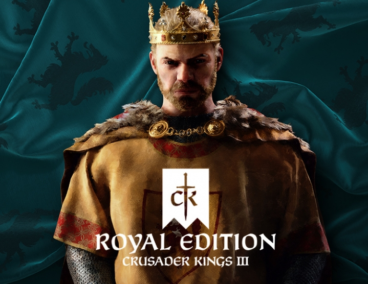 Crusader Kings III 3 - ROYAL EDITION (STEAM) +GIFT