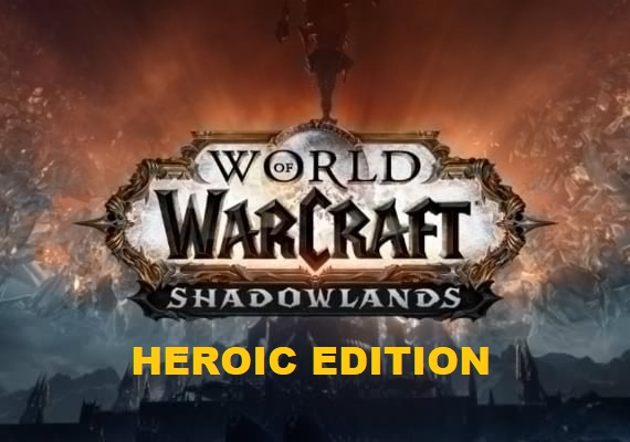 WOW: SHADOWLANDS HEROIC EDITION (USA/NA)+GIFT