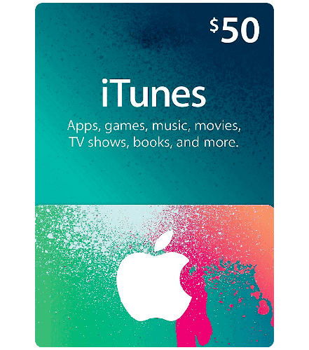 🎵ITUNES GIFT CARD $50 USA🎵