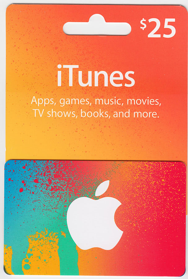 🎵ITUNES GIFT CARD $25 USA🎵