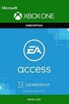 EA PLAY (EA ACCESS) 12 Месяцев XBOX ONE (Region Free)