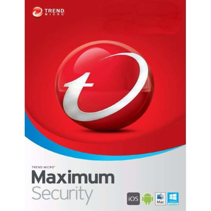 Trend Micro Maximum Security 2020 3 Device 2 Year