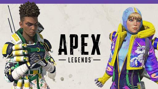 Twitch Prime Apex Legends Bangalore+Wattson+L-Star skin