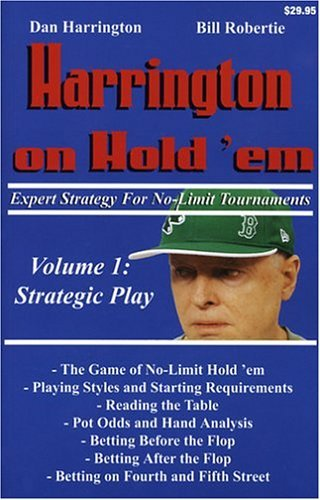 Harrington On Hold´em (Volume 1; Strategic Play)- Poker