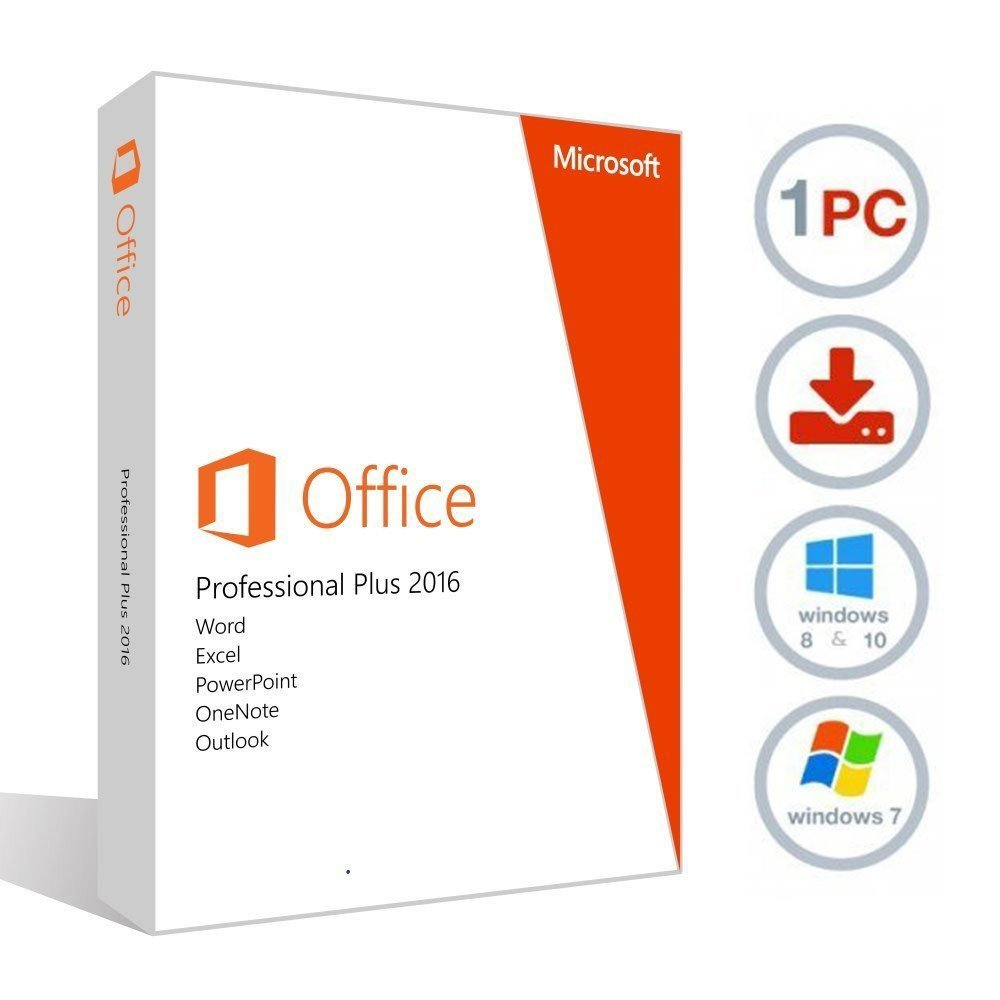 Microsoft Office 2016 Pro+ Warranty +Discount (Halfpric