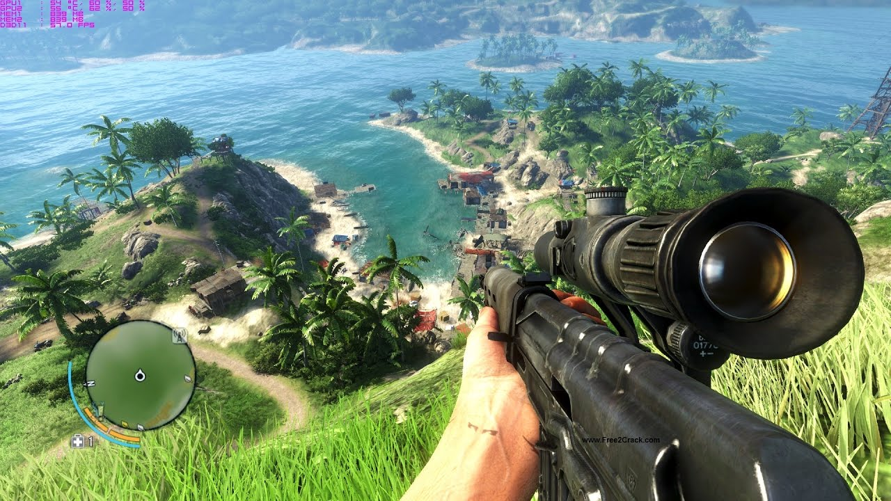 Far Cry 3 (Uplay key / Region Free)