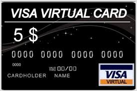 5$ USA 422803 Visa Virtual NO 3ds 100% GARANTY PayPal