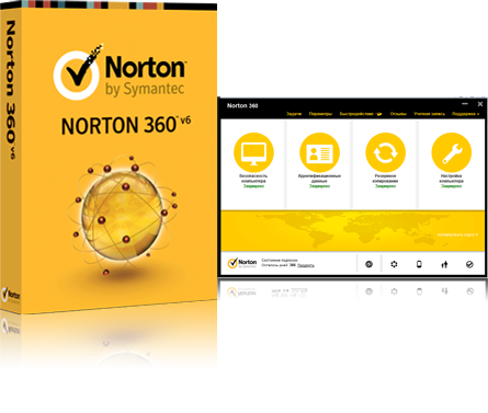 Norton 360 v.6 Premier Ed. eng (+25 GB !!!) 3 PC 1 year