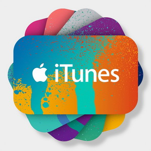 300 rub iTunes Gift Card (Russia) 2019