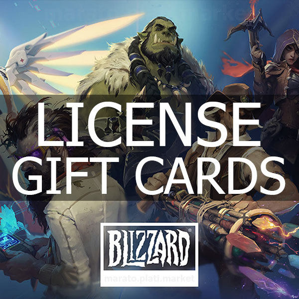 🔥 500 RUB BLIZZARD BATTLE.NET RUSSIA+CIS | GIFT CARD