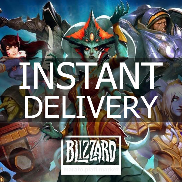 🔥 1000 RUB BLIZZARD BATTLE.NET RUSSIA+CIS | GIFT CARD