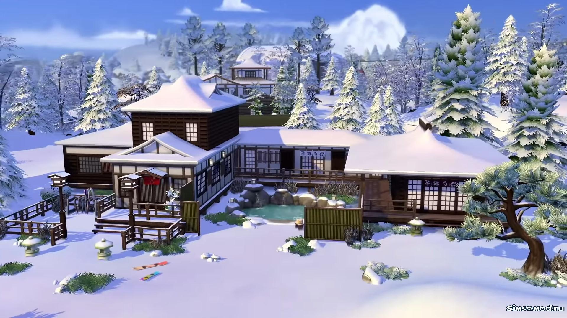 The Sims 4 Deluxe SNOW SPACES🎄 ORIGIN