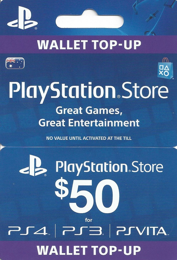 PlayStation Network USA (PSN) 50$ USD Opening Discount