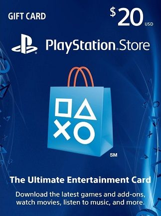 PlayStation Network USA (PSN) 20$ USD Opening Discount