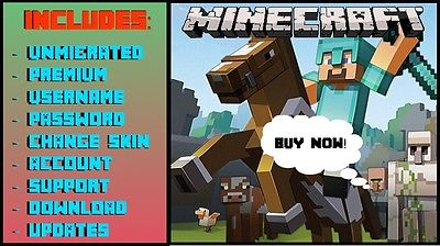 MINECRAFT PREMIUM + you get mail from your account