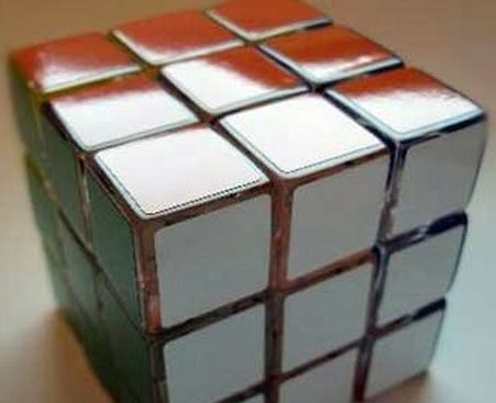 Rubik Cube, with his own hands (640 KB)