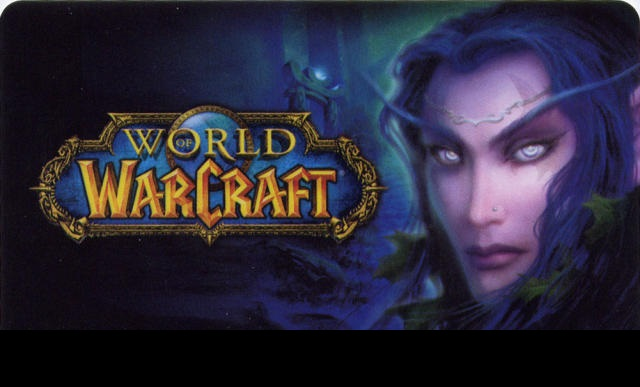 WORLD OF WARCRAFT 30 ДНЕЙ  TIME CARD (US)+CLASSIC