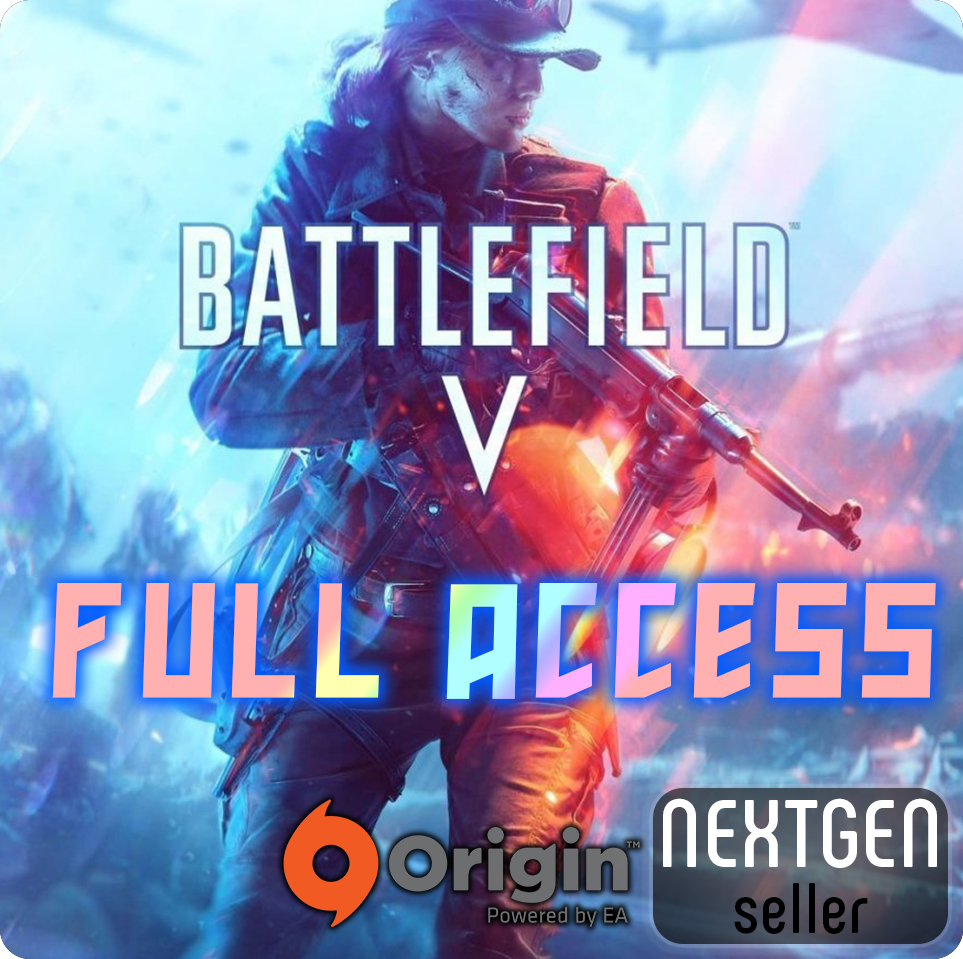 Origin • BATTLEFIELD V + CHANGE ALL DATA ✅✅✅