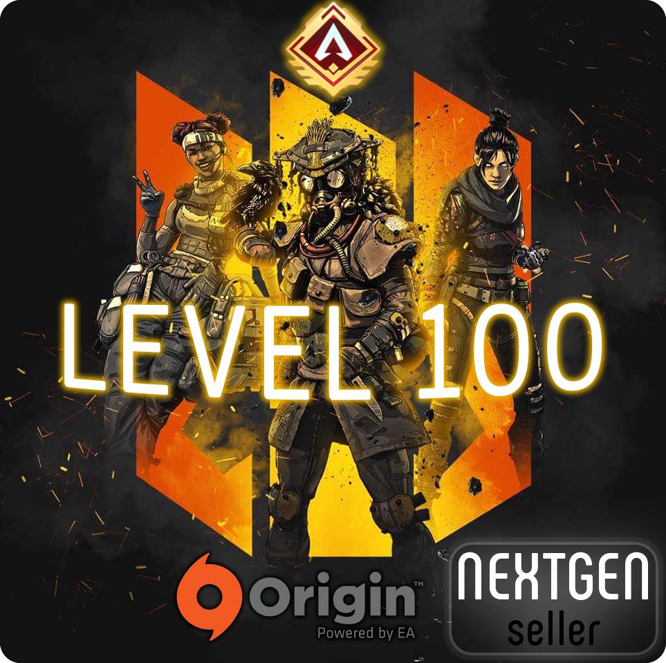 Origin • APEX LEGENDS [LEVEL 100+] + GUARANTEE
