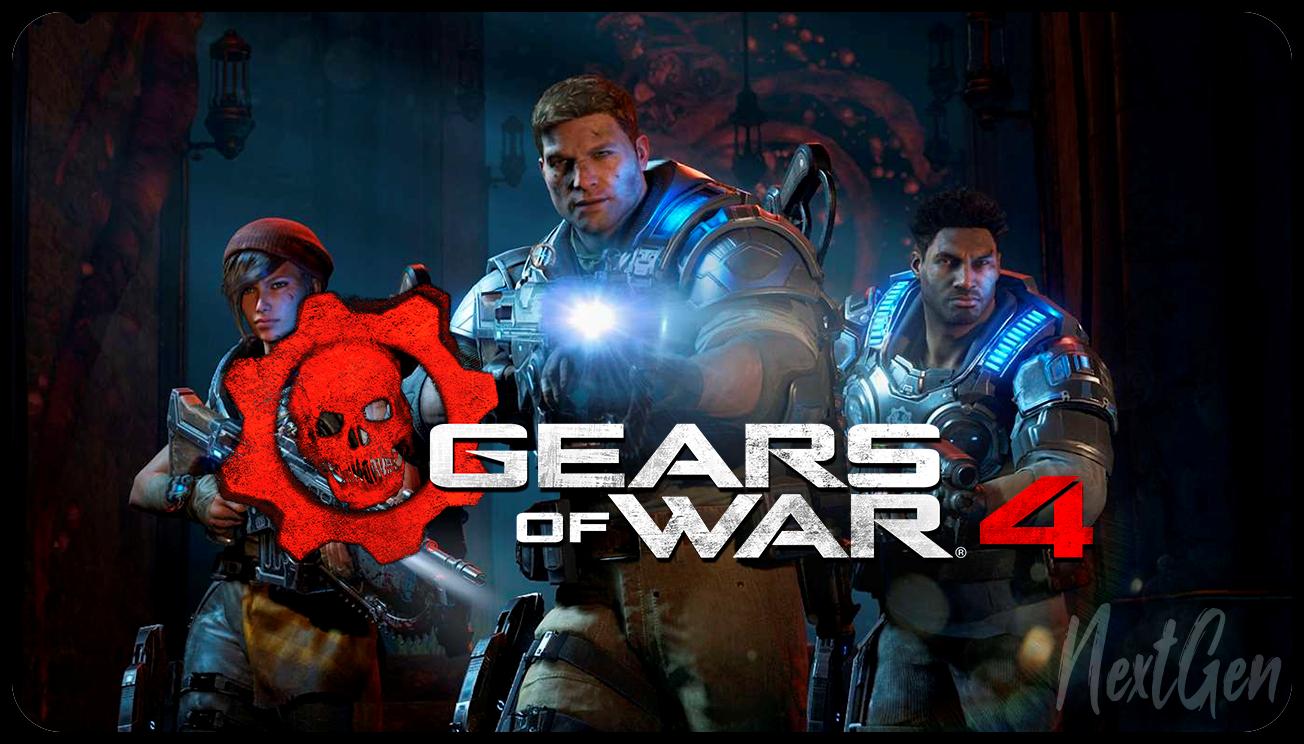 GEARS OF WAR 4 (PC) - ОНЛАЙН - САМОАКТИВАЦИЯ
