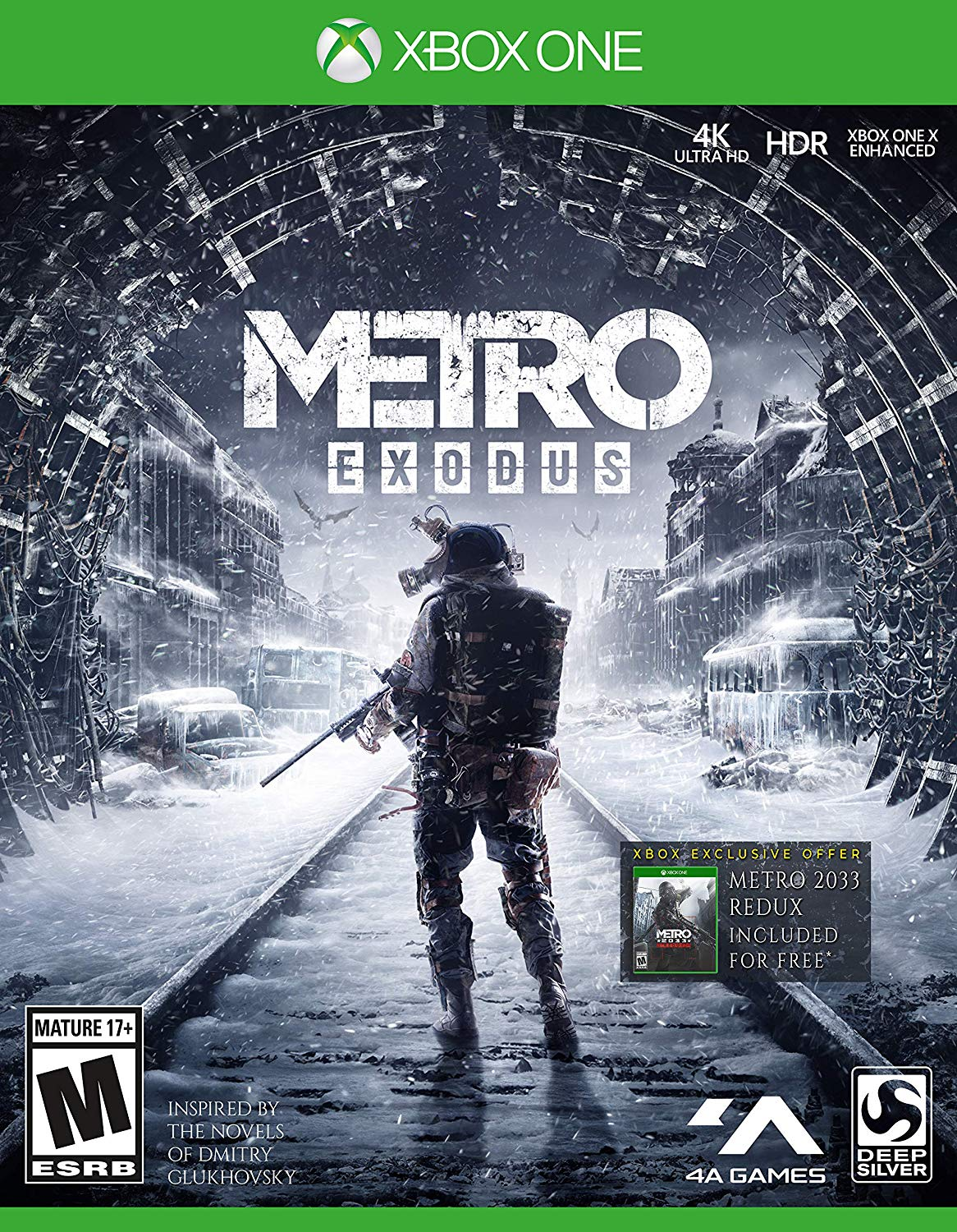 Metro Exodus + Metro 2033 / Xbox One / Account