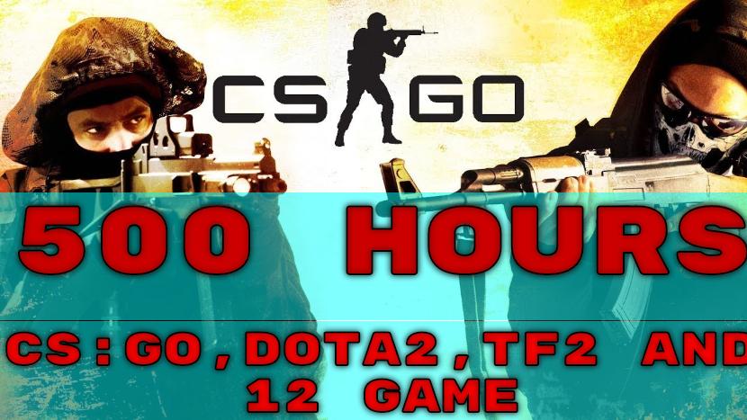 CS:GO-500ч/DOTA2-500ч/Team Fortress 2-500ч/1 Почта