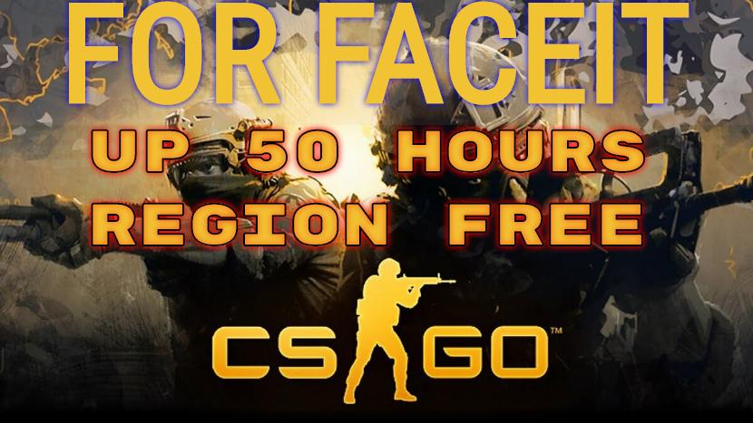Аккаунт для Faceit с 50 Часами в игре CS:GO free!