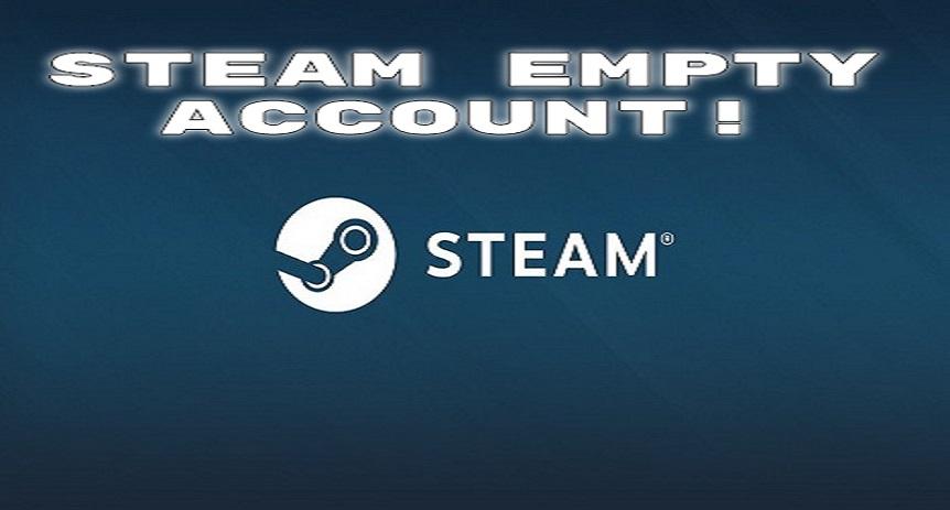 Новый steam аккаунт пустышка (саморег) АКЦИЯ