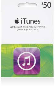 ITUNES GIFT CARD 50 $ USA+GIFT