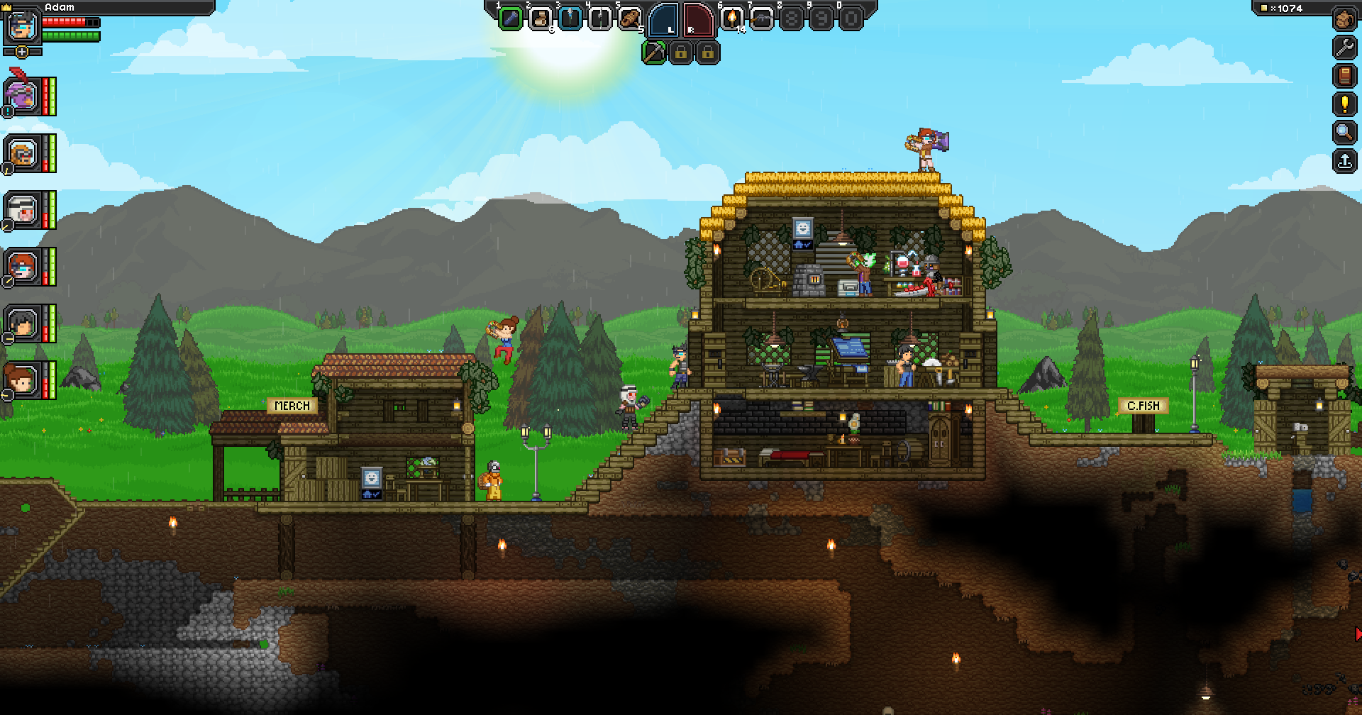 Starbound (Steam Gift RU, CIS)