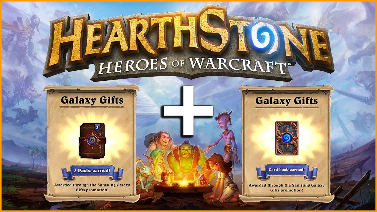 Hearthstone (Card back Samsung Galaxy+Packs; Global)