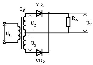 Calculation 14110-0646-0001 full-wave rectifier