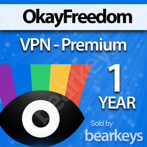 OkayFreedom VPN Premium ✔ 1 year 5 GB / month