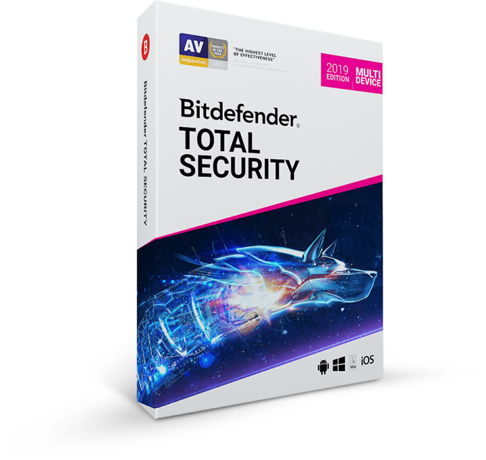 Bitdefender Total Security 2020 -90 days 5 Ps \ Key