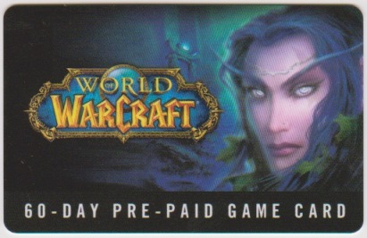 World of Warcraft WOW (60 day) EURO