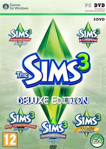 The Sims 3 + Все дополнения + Каталоги | Гарантия |