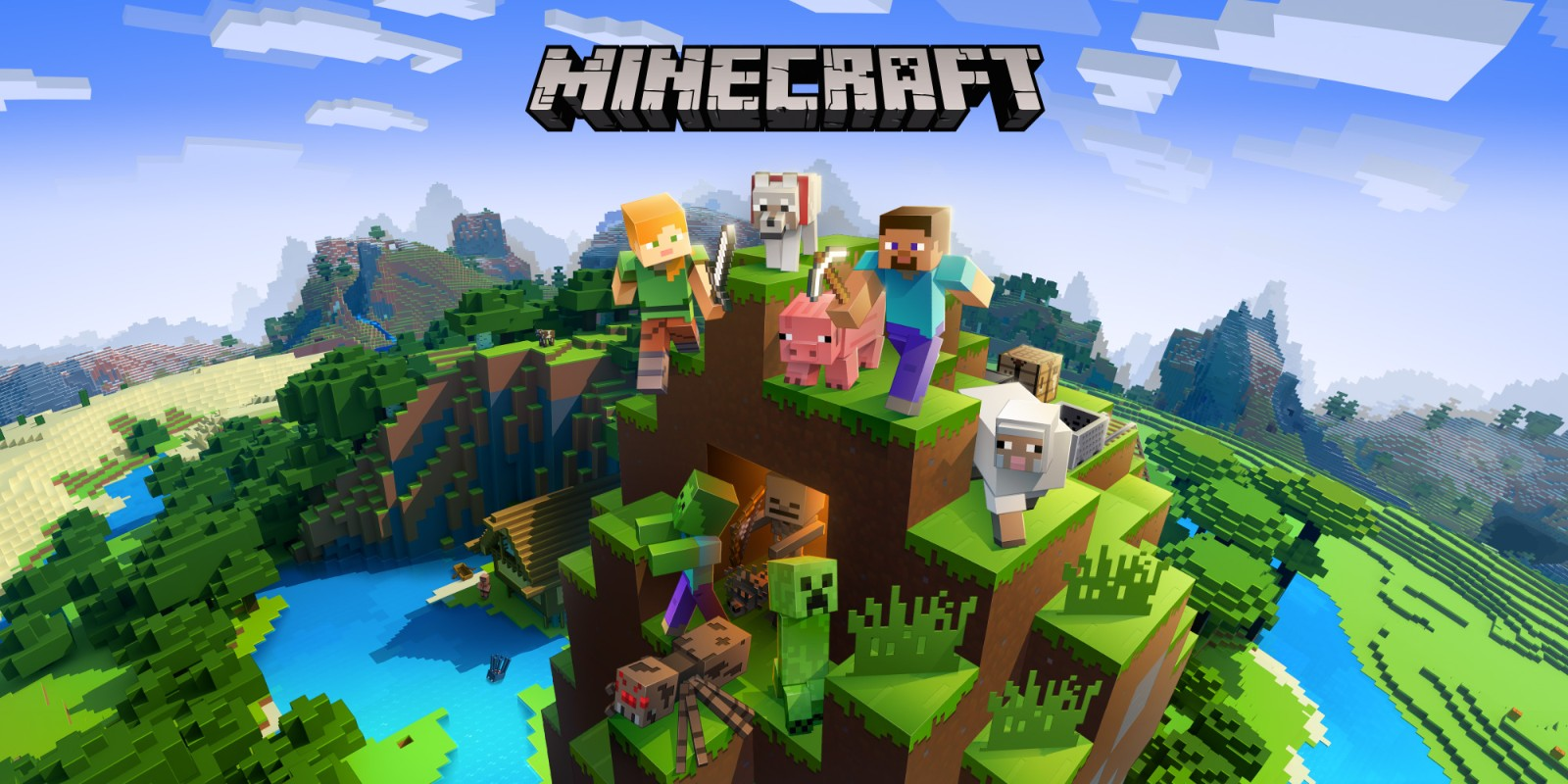 Аккаунт Minecraft со сменой скина и ника