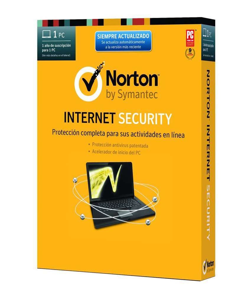 Norton Internet Security 1 PC 1 YEAR NOTACTIV