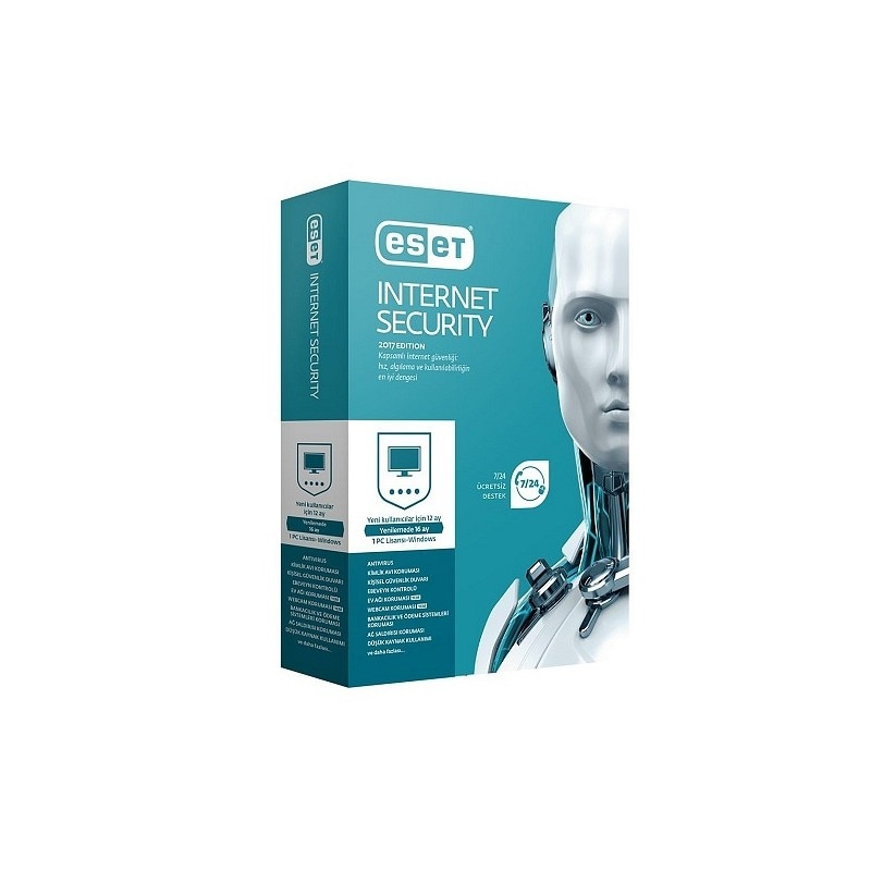 ESET Internet Security 2019 1PC 1 year +gift card+price