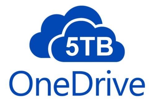 5 TB OneDrive cloud storage perman