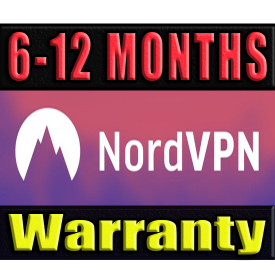 NordVPN SUBSRIPTION 6-12 MONTHS ✅GUARANTEE (NORD VPN)🔥