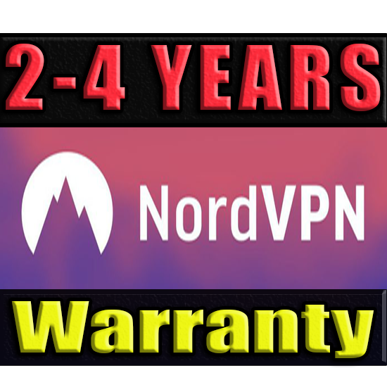 NordVPN l SUBSRIPTION 2-4 YEARS ✅ WARRANTY (NORD VPN)🔥