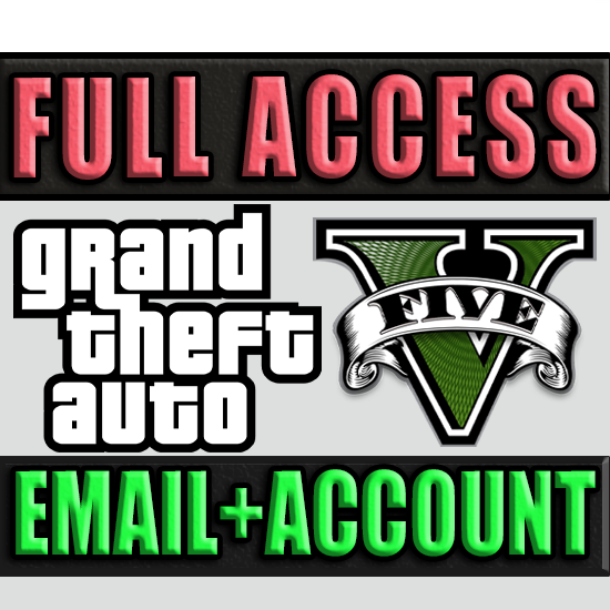 GRAND THEFT AUTO V/GTA 5 ONLINE ✅ FULL ACCESS + EMAIL🔥