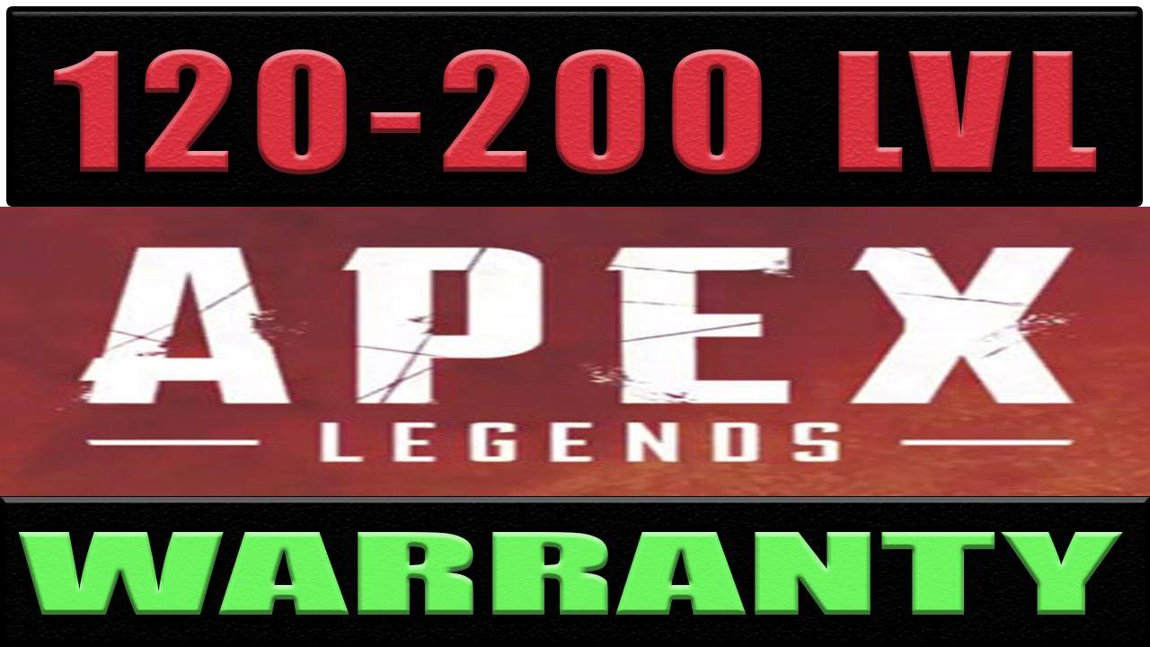 Фотография apex legends | 120 - 200 lvl | origin ✅ гарантия 🔥