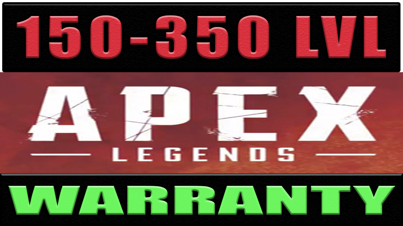 Фотография apex legends | 150 - 350 lvl | origin ✅ гарантия 🔥