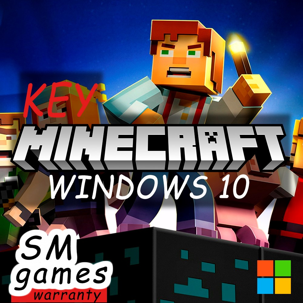 MINECRAFT WINDOWS 10 EDITION KEY| REGION FREE | 🔵