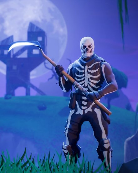 FORTNITE Epic gear SKULL TROOPER🔵